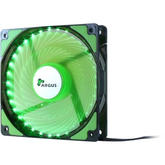 Case Cooler 12cm Argus L-12025 Green
