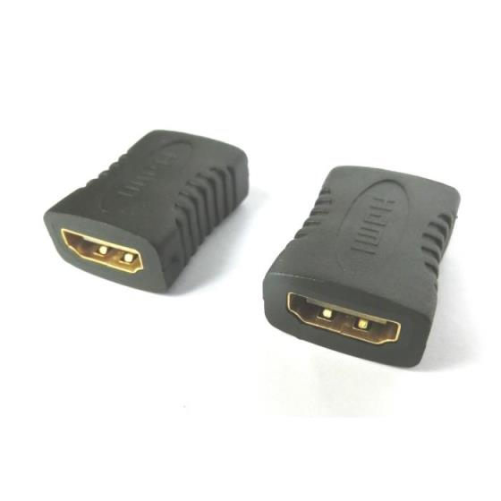 HDMI adapter F/F 180 degree Aculine AD-031