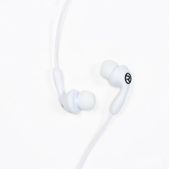 Earphone Remax RM-505 White with microphone