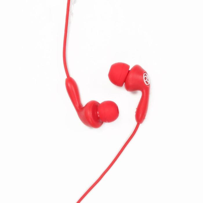 Earphone Remax RM-505 Red with microphone