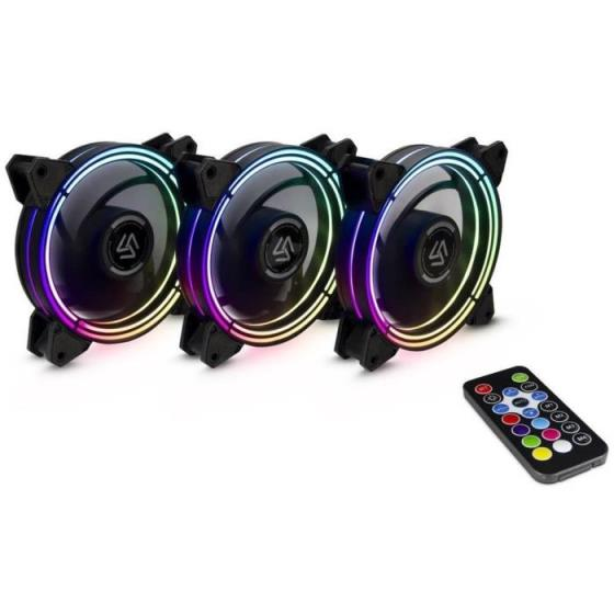 Case Cooler 12cm RGB-Fan kit Alseye HALO 3.0(EOL)