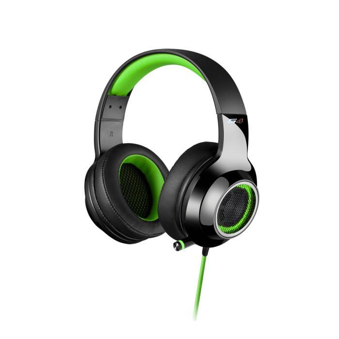 Headphone Edifier USB 7.1 V4 Black/Green