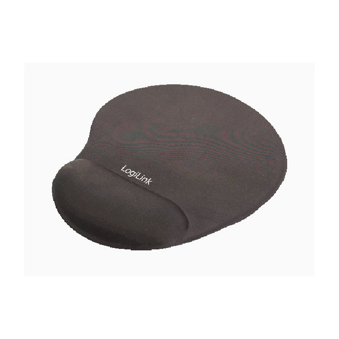 Mousepad GEL Wrist Rest LogiLink ID0027 Black
