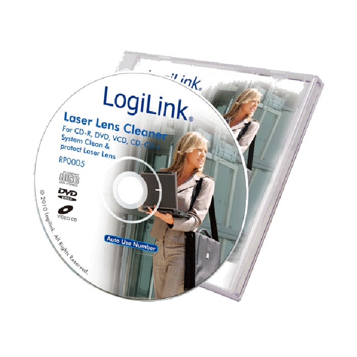 Cleaner  For CD-DVD Logilink RP0004