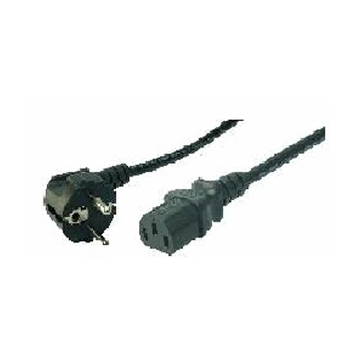 Cable Power Cord Schuko-C13 1.8m Bulk Logilink CP090