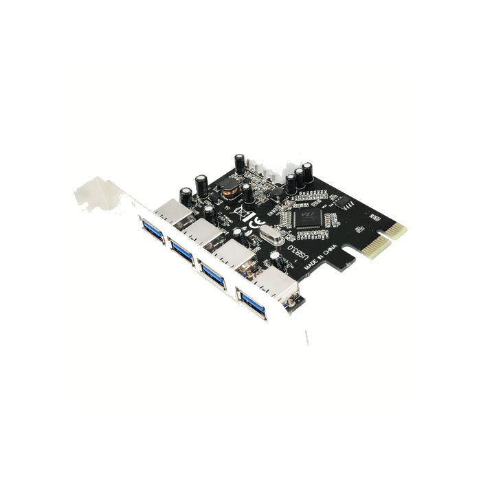 PCI Express to 4xUSB 3.0 LogiLink PC0057