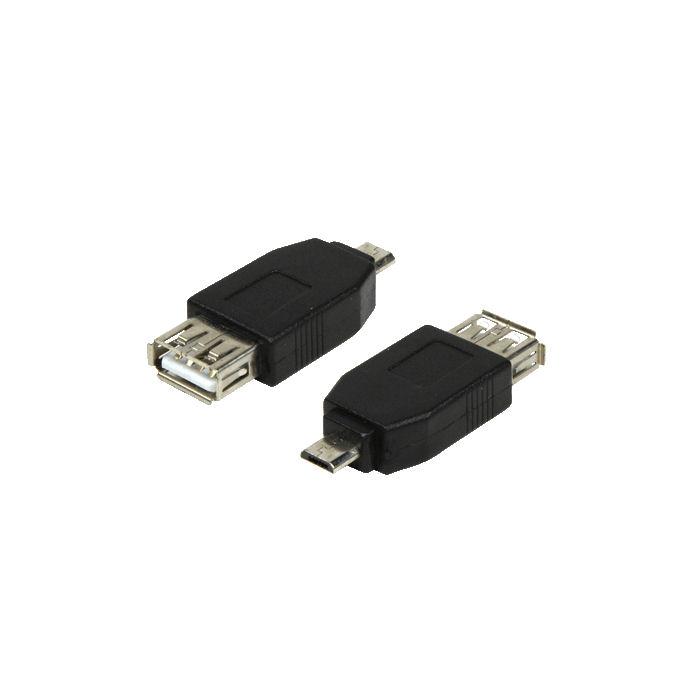 Adapter USB micro B  to A  LogiLink AU0029