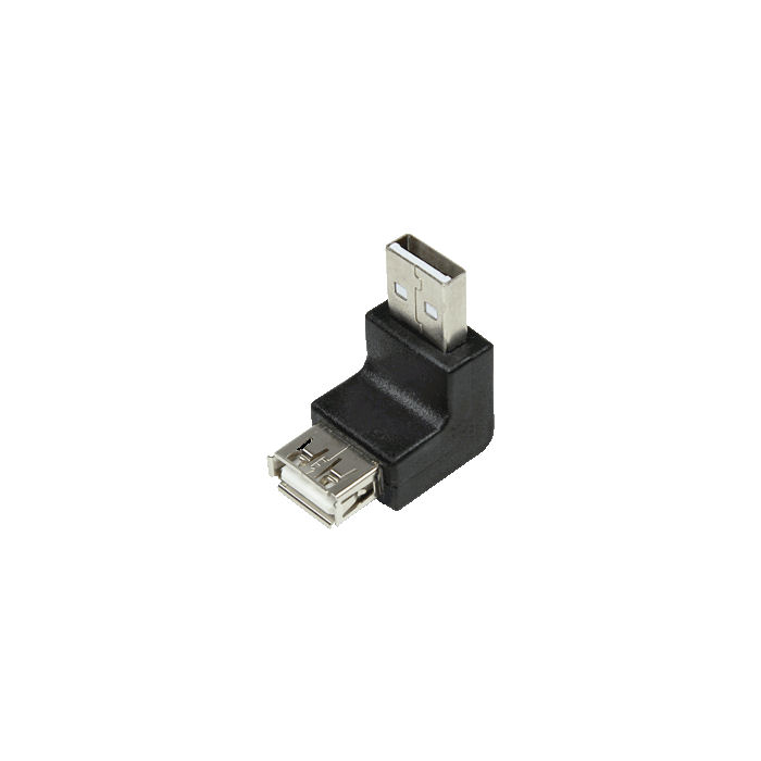 USB Adapter M/F 90° LogiLink AU0025