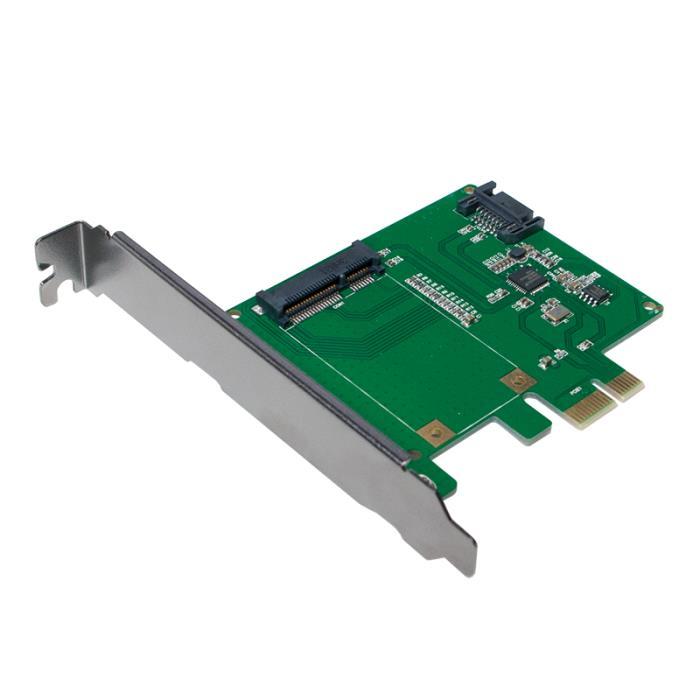 Pci Express to 1x mSATA SSD+1xSATA HDD Logilink PC0077