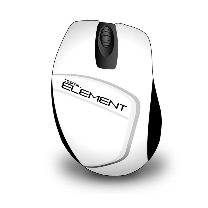 Mouse Wireless Element MS-165W