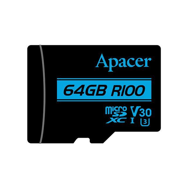Memory Card Micro SDXC UHS-I U3 Class10 64GB Apacer V30 R100