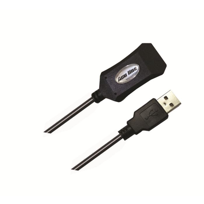 Cable USB Repeater 20m Aculine RUSB-004