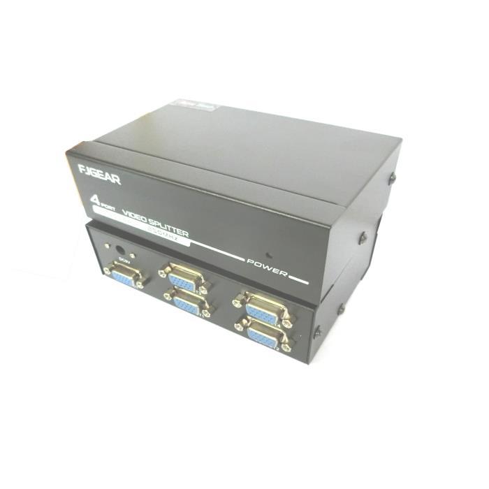 Video Splitter 1pc-4Monitors 250MHz  Aculine SPL-010