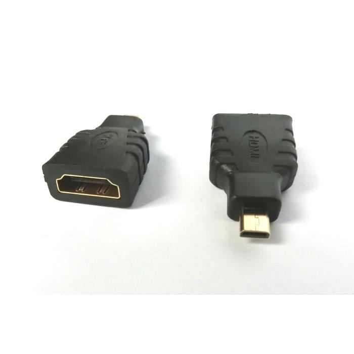 Micro HDMI adapter M/F Aculine AD-034