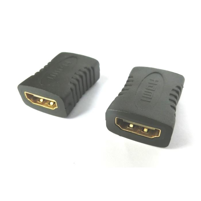 HDMI adapter F/F 180 degree Aculine