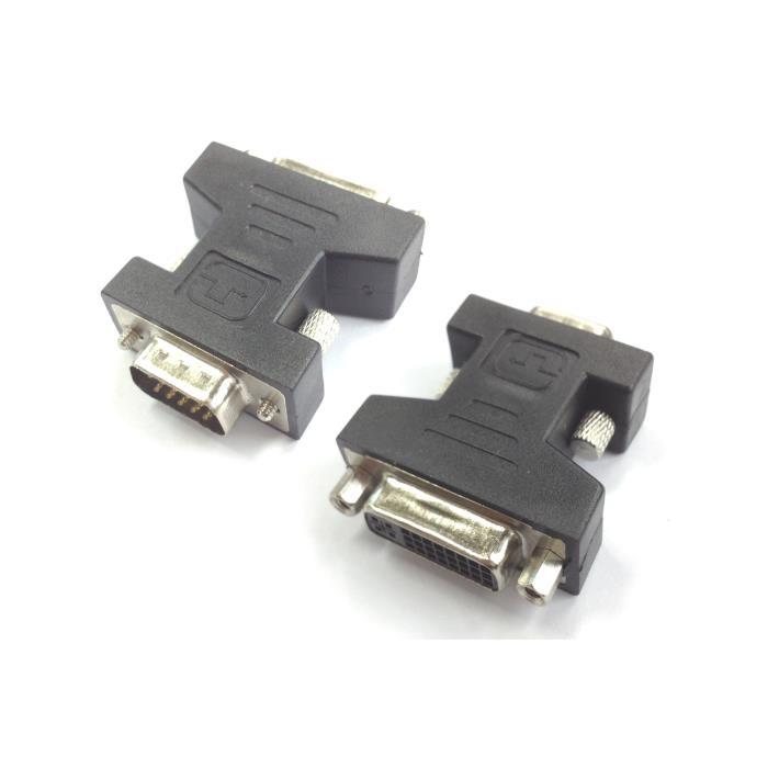 VGA male adaptor to DVI female Aculine