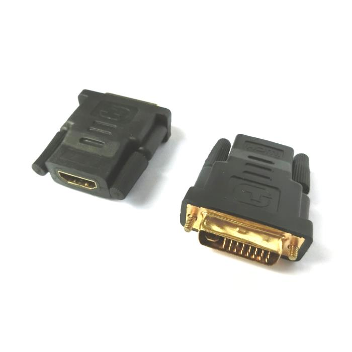 HDMI female adaptor to DVI male Aculine