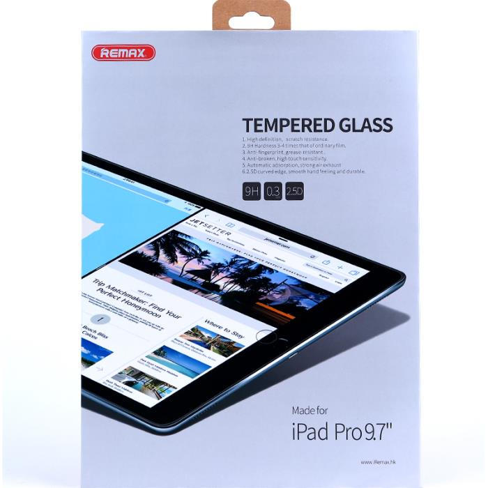 Tempered Glass Remax For iPad Pro 9.7''