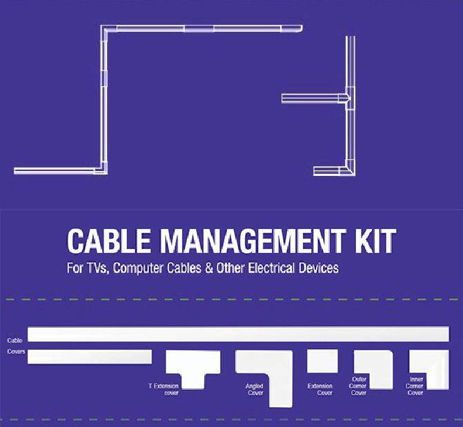 Cable Management Kit Focus Mount CM-8100