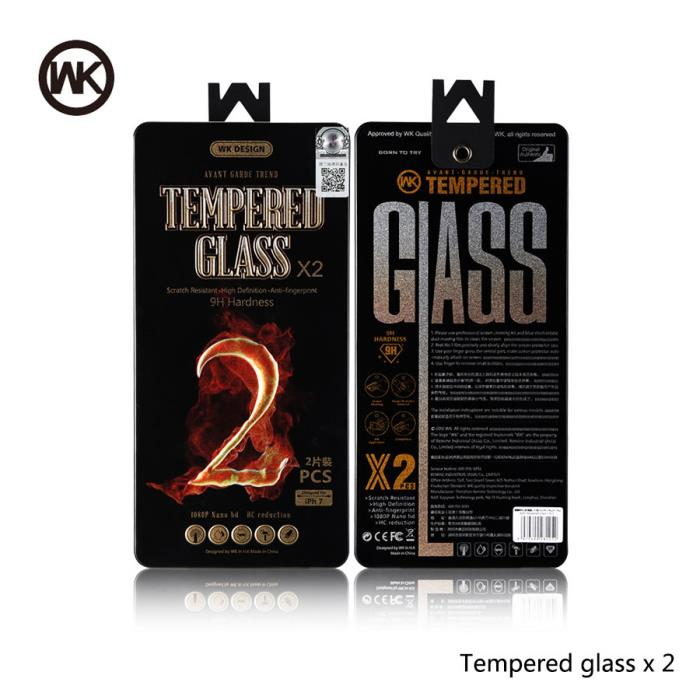 Tempered Glass WK (2pcs set) for S7 2016