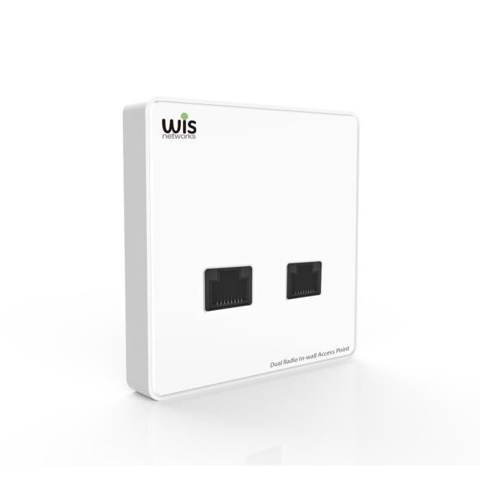 Access Point in Wall 733Mbps AC Wis WCAP-AC-W Cloud
